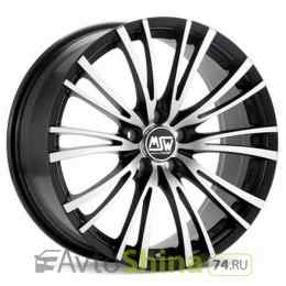MSW 20/5 8x17 5x100 ET 35 Dia 63,3 (Matt Black Full Polished)
