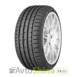 Continental ContiSportContact 3 245/45 ZR19 98W Run Flat