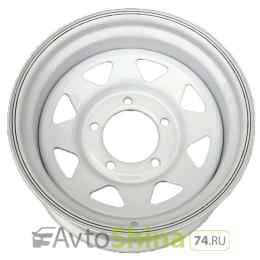 Off-Road-Wheels Нива 7x15 5x139,7 ET 25 Dia 98,5 (white)