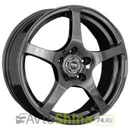 Racing Wheels H-125 7x16 4x98 ET 35 Dia 58,6 (BK F/P)